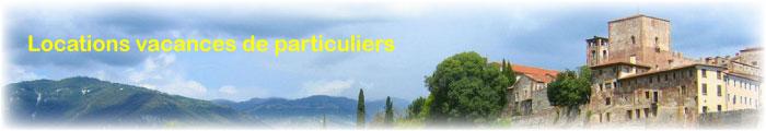 location vacances, gite rural en italie